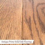 Antique Prime Solid Oak Flooring