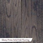 Prime Ebony Solid Oak Flooring