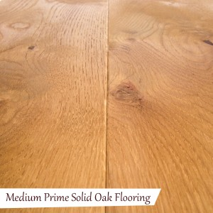 Medium Prime Solid Oak Flooring