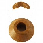 Oak Radiator pipe collars